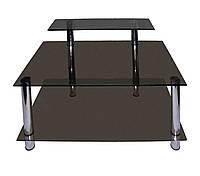 Стеклянный столик под ТВ-11