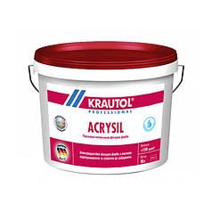 Краска фасадная силиконовая Krautol Acrisil (10 л)
