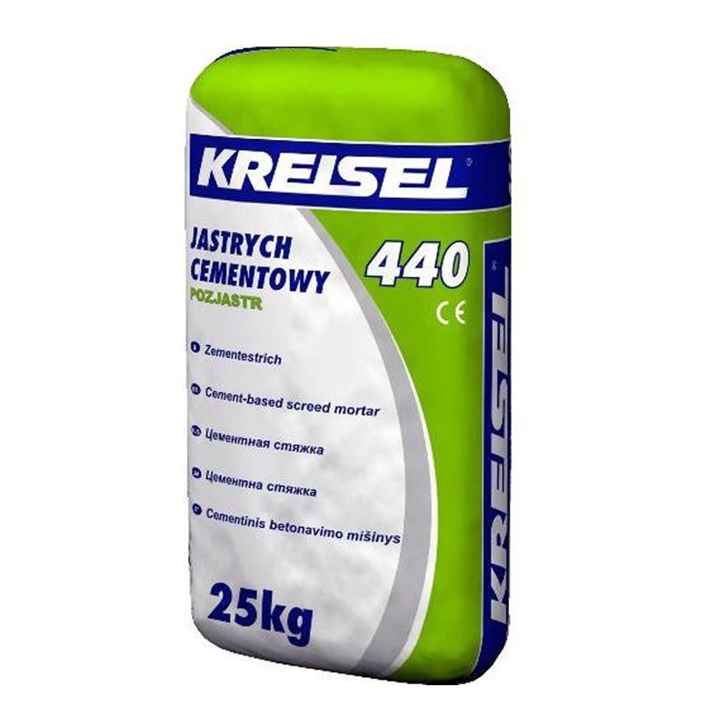 Цементная стяжка Kreisel ESTRICH-BETON 440 (25 кг)