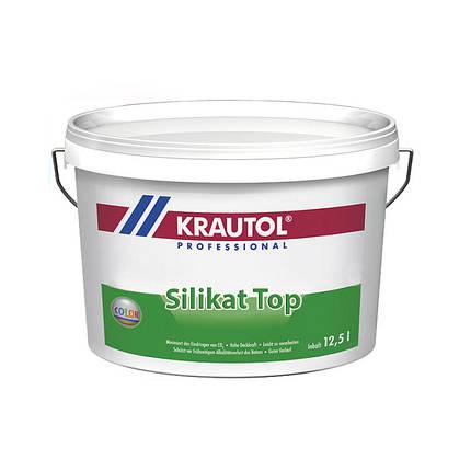 """Фасадная краска """"Krautol"""" Silikat TOP (10 л), фото 2"""