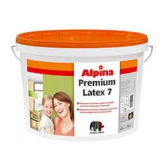 Краска Alpina 7B1 в/д Premiumlatex (10 л)