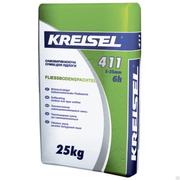 """Смесь самовыравнивающаяся """"Kreisel"""" RENOGRUNT-411"""