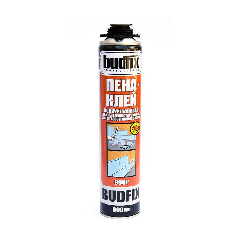 Клей пена для пенопласта BUDFIX 890 P (800 мл)