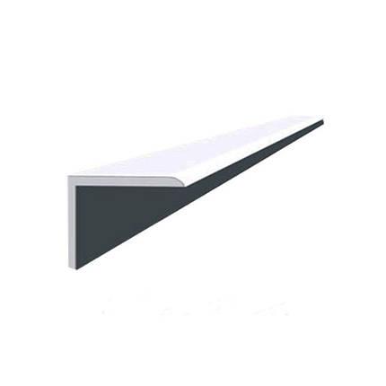 Угол декоративный ОМиС 10х20мм ПВХ (белый), фото 2