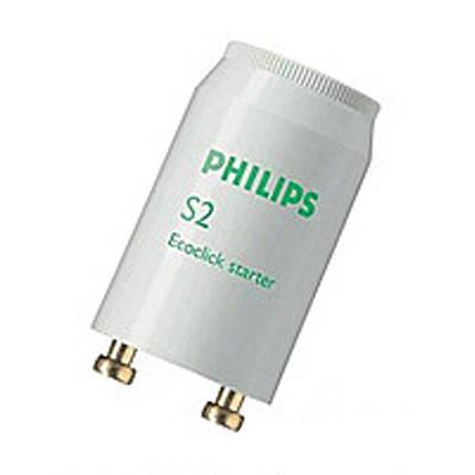 Стартер для люминесцентных ламп S2  4-20 W Philips, фото 2