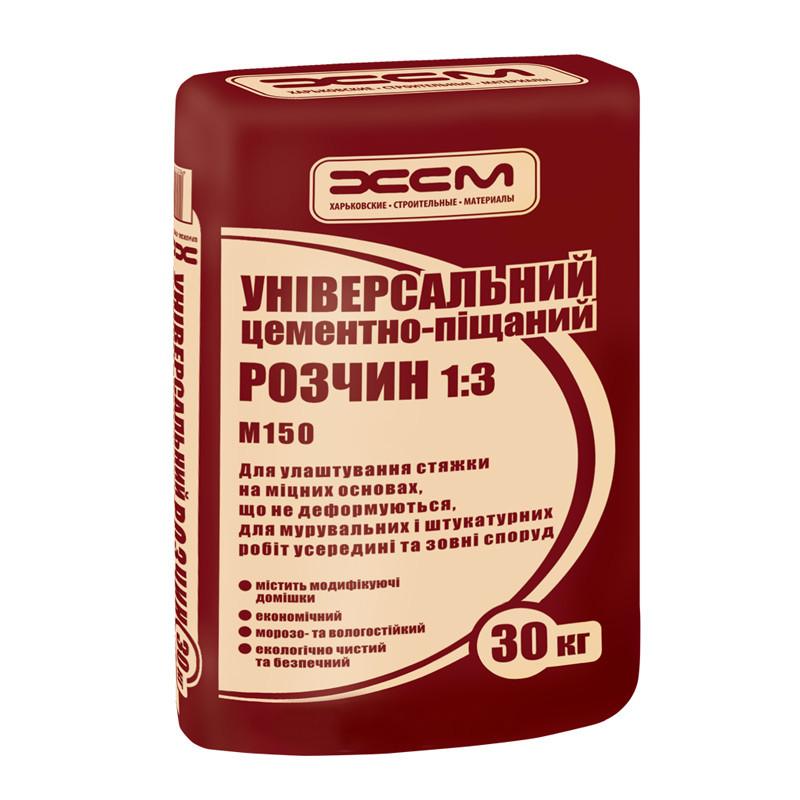 Цементно-песчаная смесь М150 ХСМ (30 кг)