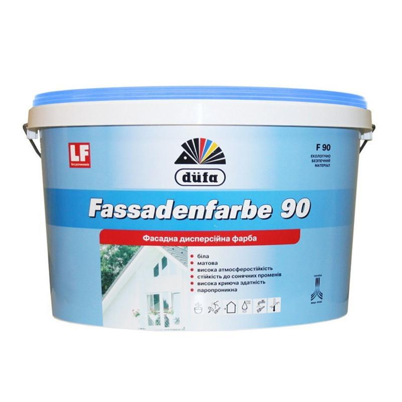 Краска фасадная водоэмульсионная Dufa F90 (2,5 л)