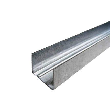 Профиль гипсокартонный UD 27 4 м (0,4 мм), фото 2