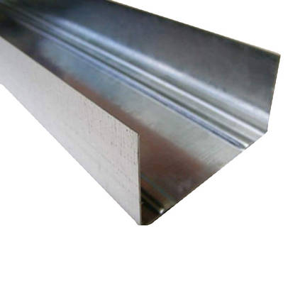 Профиль UW 75 направляющий 4 м (0,4 мм), фото 2