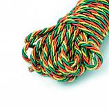 Шнуры крученые, плетеные