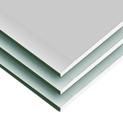 Гипсокартон влагостойкий KNAUF 1,2х3 м (12,5 мм), фото 2