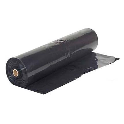 Плёнка полиэтиленовая (черная) 100 мкм, фото 2