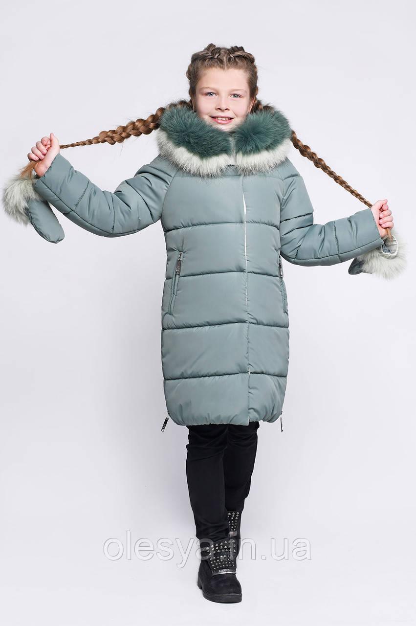 X-Woyz Детская зимняя куртка X-Woyz DT-8269-1 размер 146-152