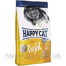 Корм Happy cat (Хэппи Кэт) LIGHT для взрослых котов имеющих склонность к полноте 4 кг