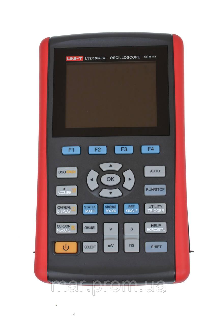 Цифровой портативный осциллограф UNI-T UTD-1050CL