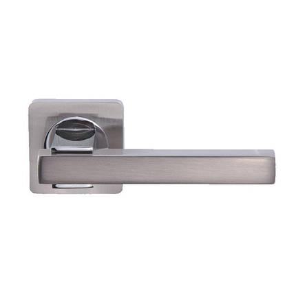 Дверная ручка GAVROCHE Francium Fr A-1 SN/CP, фото 2