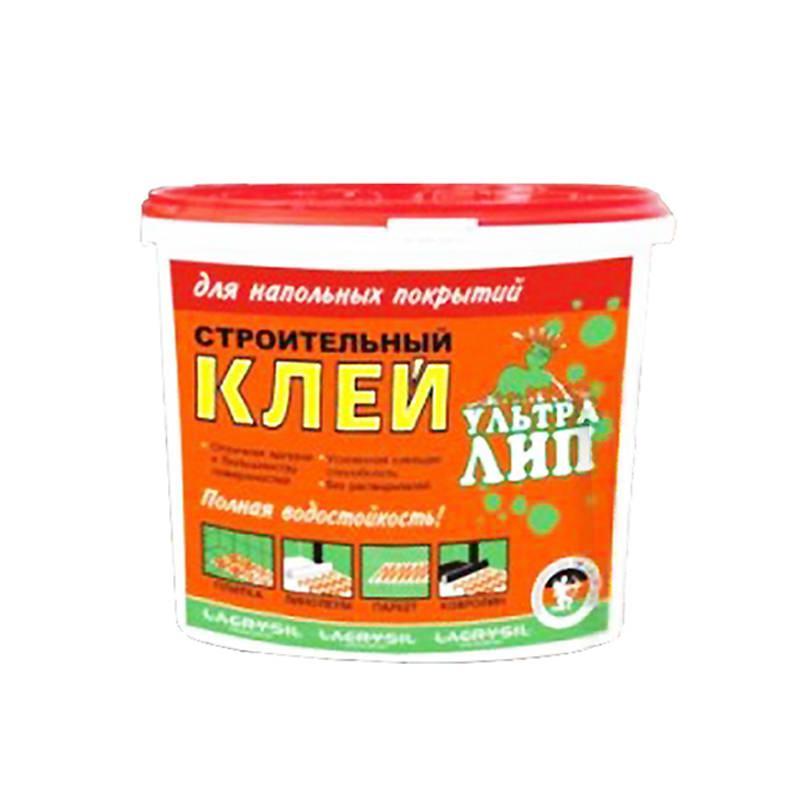 Клей строительный для напольных покрытий Ультра Лип (6 кг)