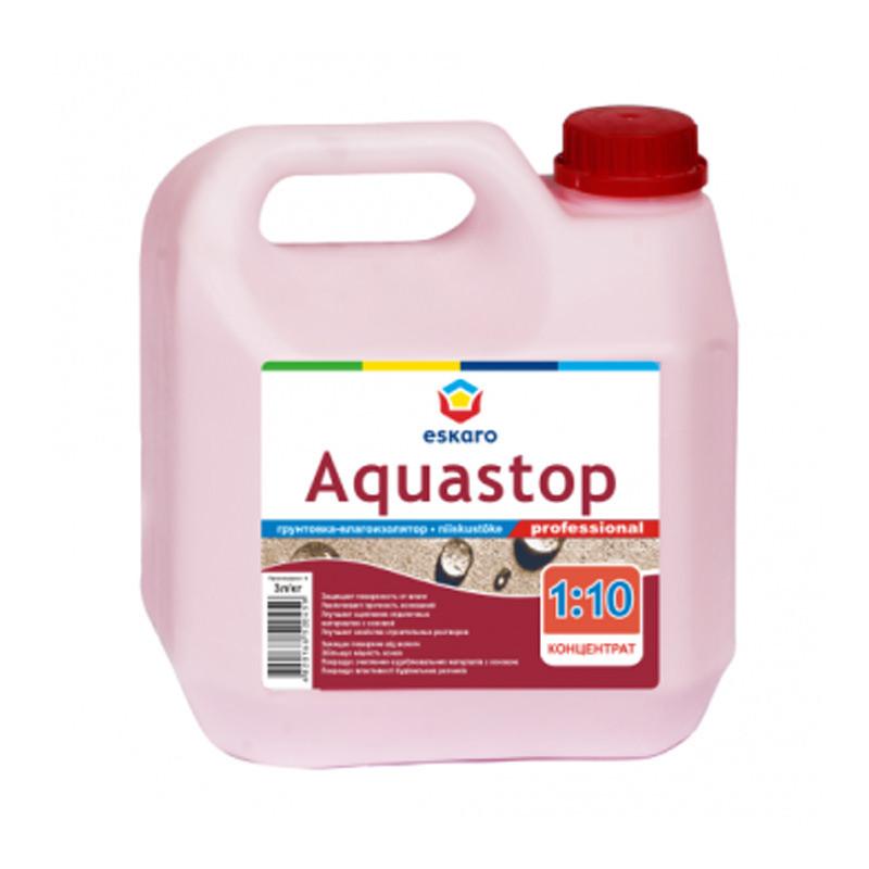 Грунтовка Eskaro Aquastop Professional (3 л)