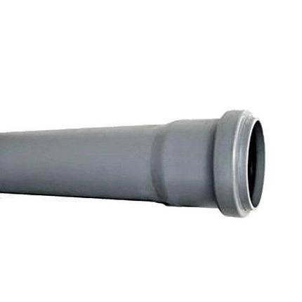 Труба канализационная ПВХ Wavin (50 мм) 2м, фото 2