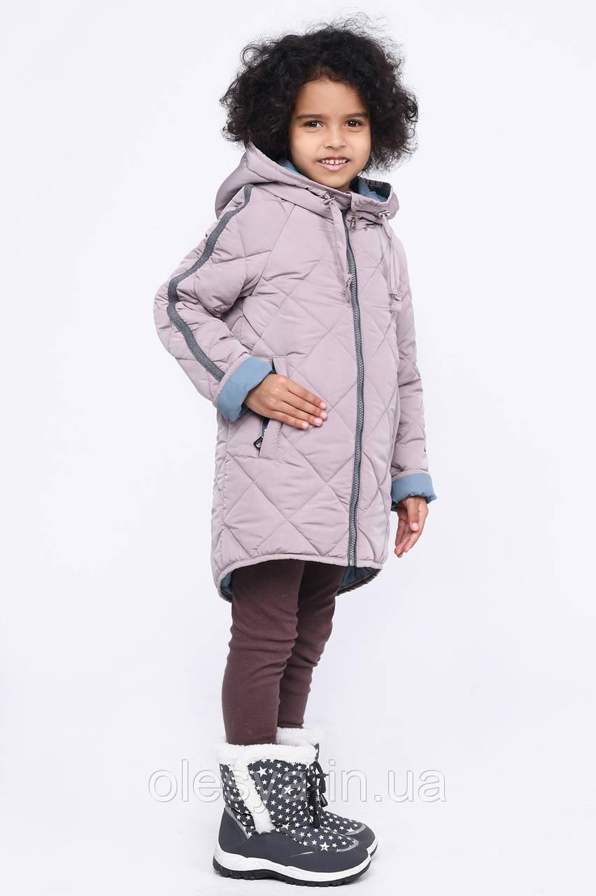 Куртка для девочки X-Woyz Размеры 34 36 цвет латте