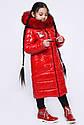 Модная детская зимняя куртка для девочек тм X-Woyz размеры 122- 158, фото 2