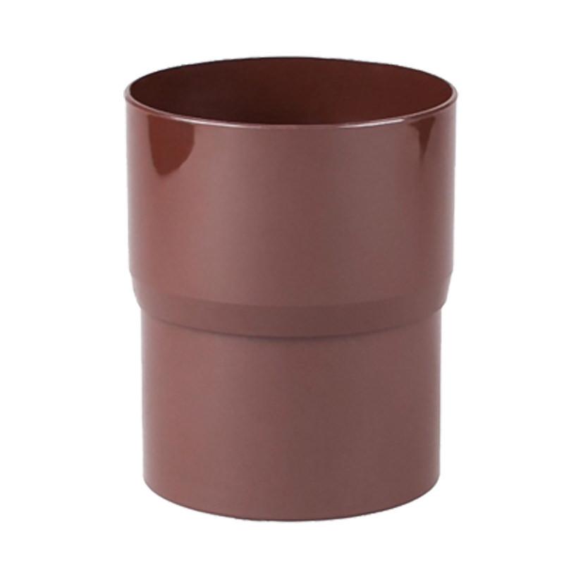 Соединитель трубы коричневый Profil 130 мм