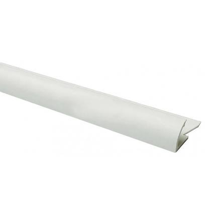 Уголок для плитки наружный 8 мм белый, фото 2