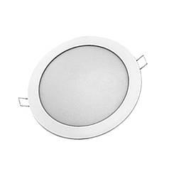 Светодиодная панель Lezard круглая встраиваемая 12 Вт, 6400К, 950 люмен