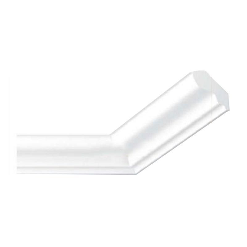 Потолочный плинтус ТМ Marbet Е-4 Lux 2 м (30 х 30 мм)