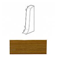 Заглушка правая дуб жженный 021 Line Plast
