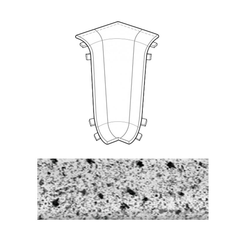 Угол внутренний серый гранит 043 Line Plast
