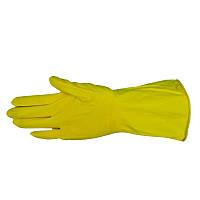 """Перчатки резиновые с внутренним напылением, тип """"Латекс"""" М"""