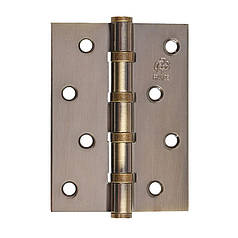 Петля дверная GAVROCHE универсальная В4 AB (100х75х2,5 мм)