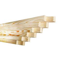 Сухой брус 30 х 40 мм (2 м)