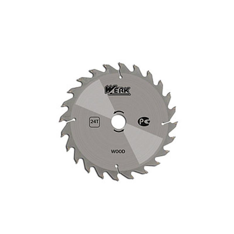 Пильный диск по дереву WERK 125 мм (24 зуб)
