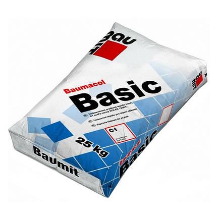"""Клей для плитки """"Baumit"""" Basic (25 кг), фото 2"""