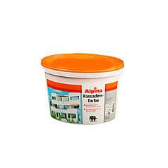 Водно-дисперсионная краска Alpina Fassadenfarbe (2,5 л) фасадная