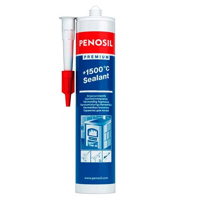 Герметик термостойкий Penosil силиконовый черный (310 мл)