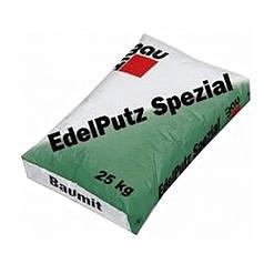 Штукатурка минеральная Baumit 2К барашек Edelputz Spezial White