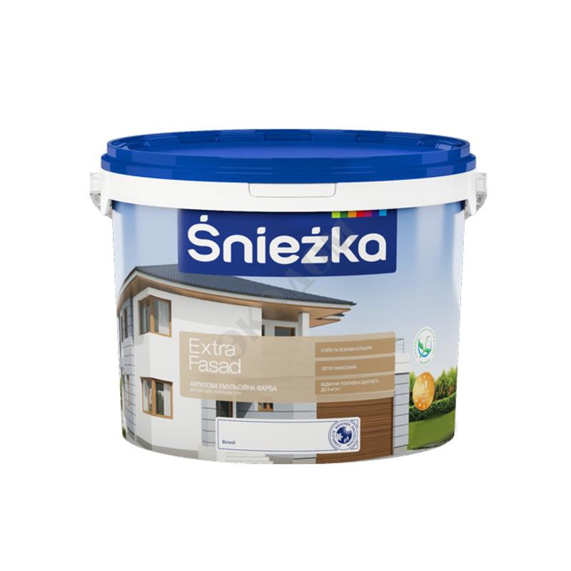 Краска водно-дисперсионная Sniezka Extra Fasad (5 л)