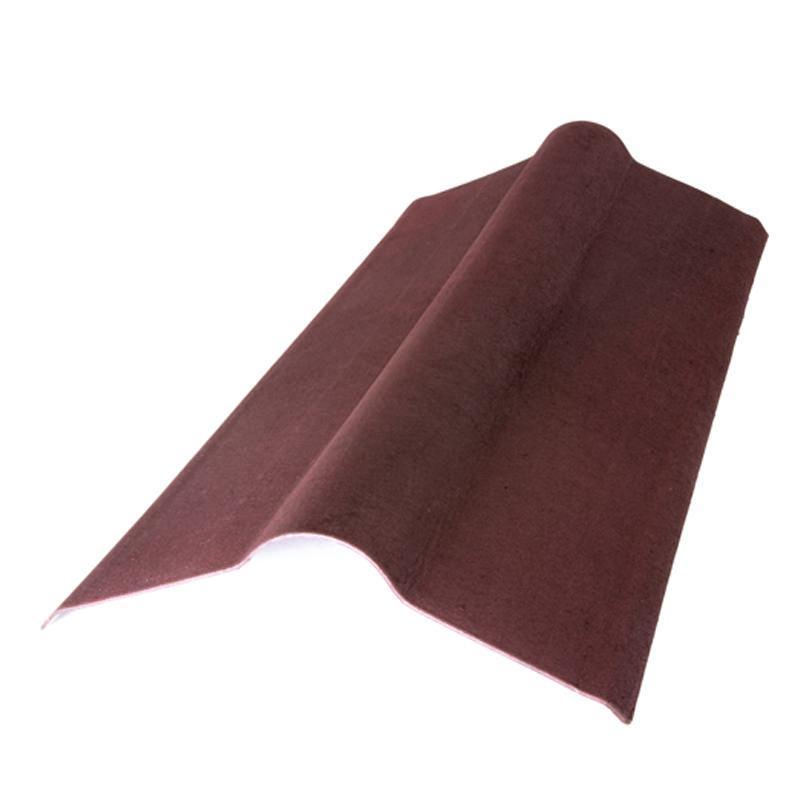 Конек Ондулин красный 0,36 х 1 м