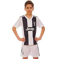 Форма футбольная детская Juventus 8020: размер 110-155см