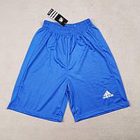 Футбольные шорты Adidas синие реплика