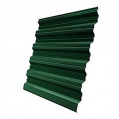 Профнастил нс-20 (2000х1150х0,4) 6005 зелёный (2,3 м.кв)