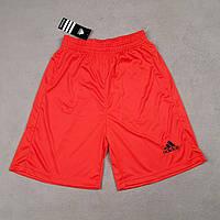 Футбольные шорты Adidas красные реплика