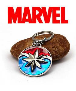 Брелок Капитан Марвел комиксы Марвел