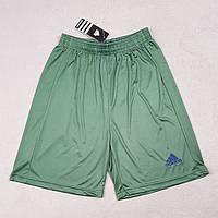 Футбольные шорты Adidas темно-зеленые реплика