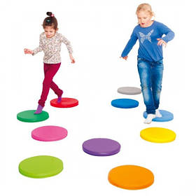 Дитячі спортивно-ігрові тренажери,батути,балансири