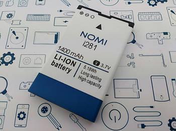 Батарея аккумуляторная NB-281 Nomi i281 Сервисный оригинал с разборки (до 10% износа)