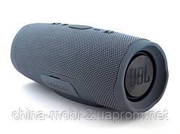 JBL Charge 4+ 20W AAA top реплика, портативная колонка с Bluetooth FM MP3, серая, фото 2